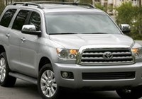 Toyota lại thu hồi xe Sequoia do phanh đột ngột