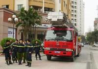 Hà Nội: Xe thang khó chữa cháy nhà cao tầng