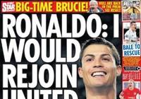 Báo Anh đưa tin MU mua lại Ronaldo