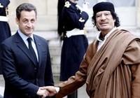 """""""Nghi án"""" Sarkozy nhận hàng chục triệu đô từ Gaddafi"""