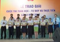 Tuyên dương 117 học sinh xuất sắc cuộc thi toán học