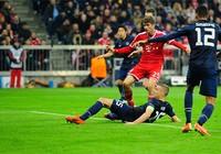 Thua Bayern, Man Utd vỡ mộng Champions League