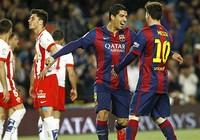 Suarez lập cú đúp, Barca vững bước cùng trận đại thắng