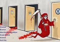 """Chùm ảnh hài hước """"hậu"""" Derby thành Manchester: Tử thần vẫy gọi Chelsea"""