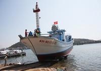 Chạy thử tàu cá đầu tiên đóng từ vốn vay theo Nghị định 67