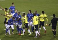 Neymar 'nổi điên', trận Brazil - Colombia kết thúc trong bạo lực