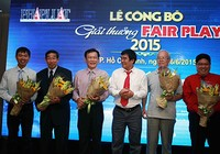 Chính thức công bố giải FairPlay 2015