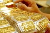 Vàng trong nước đắt hơn thế giới gần 5 triệu đồng/lượng