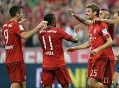Bayern 5-0 Hamburg: 'Hùm xám' ra oai ngày khai mạc