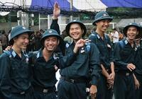TP.HCM: Hơn 1.200 thanh niên tình nguyện nhập ngũ