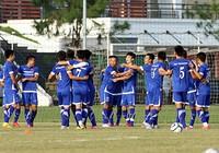 Chùm ảnh tuyển Việt Nam tập luyện chuẩn bị 'đấu' Thái Lan