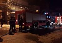 Hỏa hoạn thiêu rụi nhiều gian hàng quần áo tại chợ Xốm
