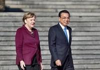 Thủ tướng Đức đến Bắc Kinh