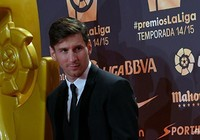 Messi đoạt danh hiệu tiền đạo xuất sắc nhất La Liga
