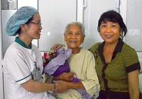 Cắt bỏ khối u tim hiếm gặp cho cụ bà 90 tuổi
