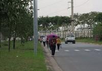 Công đoàn KCX-KCN TP.HCM thăm công nhân bị đâm kim tiêm vào ngực