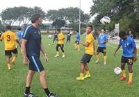 Bóng đá Malaysia đặt mục tiêu vàng SEA Games 29