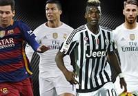 Nóng: UEFA công bố đội hình xuất sắc nhất năm 2015