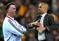 Van Gaal mạnh miệng tuyên bố không sợ Pep Guardiola
