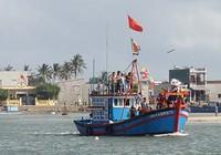Ra quân mở biển Sa Huỳnh