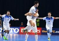 Bị Việt Nam loại, Futsal Nhật tiếp tục thua đậm trận play-off