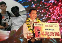 Gala trao Giải Fair Play 2015: Abass Dieng được tôn vinh