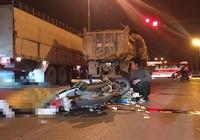 Va chạm với xe tải, nam thanh niên tử vong