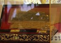 Mãn nhãn với bản kinh Phật trên lá bối 2.000 năm tuổi