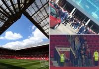 Nghi bị gài bom, trận cuối cùng của Man United bị hủy