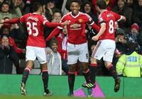 Sao M.U thắng giải bàn thắng đẹp nhất Premier League mùa 2015-2016
