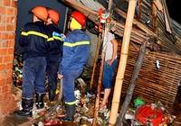 Cháy chợ, thiệt hại gần tỉ đồng