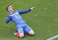 Pháp 2-1 CH Ireland: Griezmann cứu rỗi 'gà trống'