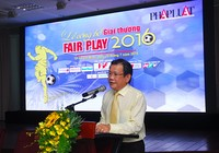 Chính thức công bố giải Fair Play 2016
