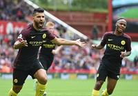 Thắng đậm Stoke City, Man City 'vượt mặt' M.U
