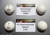 Bốc thăm Europa League: M.U rơi vào bảng khó