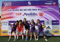 Giải bóng đá Hội Nhà báo TP.HCM 2016: Bóng hồng trên sân cỏ!