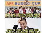 Ca sĩ Tuấn Hưng hứa xuống tóc nếu Việt Nam vô địch