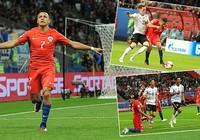 Sanchez lập kỷ lục trong ngày Chile bị Đức cầm hòa
