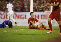 Trực tiếp U22 VN - U22 Indonesia: Khó khăn, bế tắc (H1)