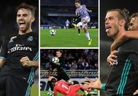 Cầu thủ lạ giúp Real Madrid trở lại top 4