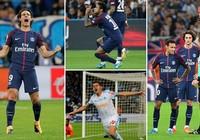 Neymar bị thẻ đỏ, Cavani sắm vai người hùng giải cứu PS