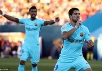 Messi tịt ngòi, đã có Suarez giúp Barcelona