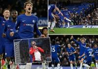 Hai siêu phẩm giúp Arsenal, Chelsea thắng nhọc