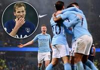 Đến Tottenham cũng đại bại, còn ai cản nổi Man. City