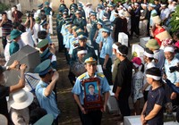 Tiễn đưa Đại tá Trần Quang Khải về nơi an nghỉ cuối cùng