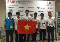 Việt nam dành Huy chương Vàng Olympic Tin học quốc tế năm 2016