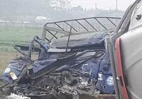 Va chạm giao thông, tài xế xe tải tử vong trong cabin