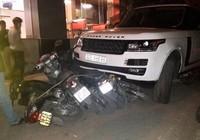 Kẻ trộm Range Rover tông hàng loạt xe máy