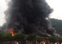 Cháy lớn tại chợ Tân Thanh - Sài Gòn