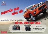 Chương trình khuyến mãi mùa hè 2016 của Toyota Việt Nam